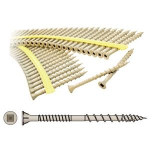 quick drive decking screw for treated decking