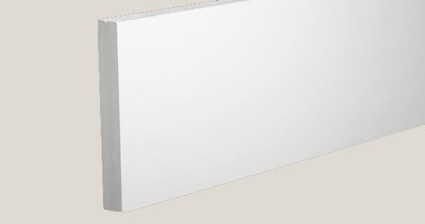 Azek Frontier Reversible White PVC Trim 3/4