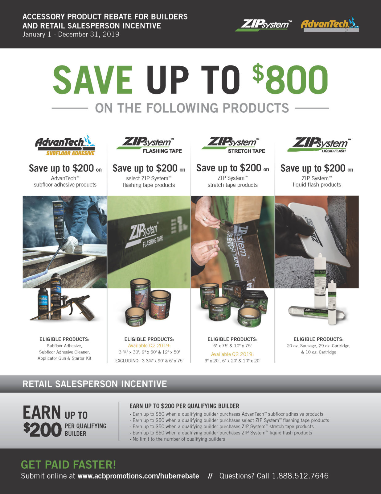 3cee92b6f97 Save Up To $800 On AdvanTech & ZipSystem Products - Schillings