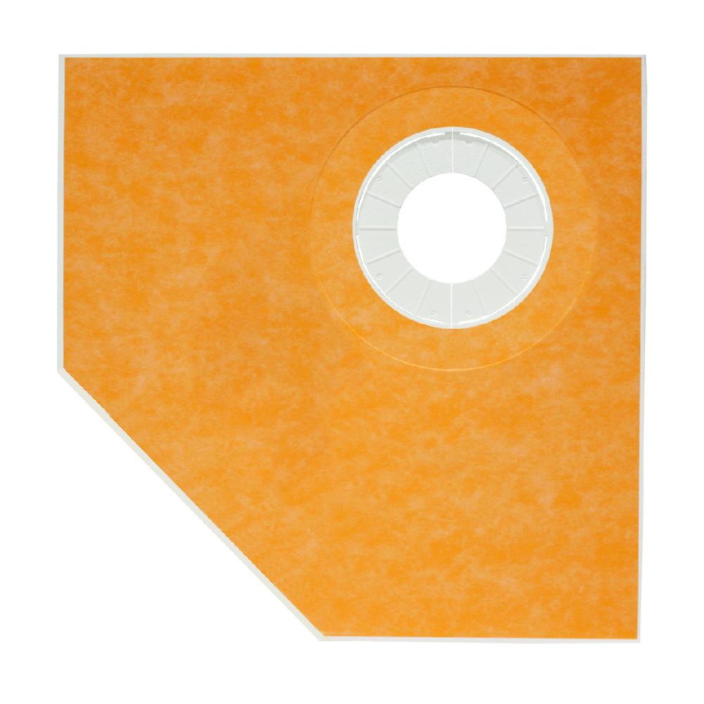38x38 KERDI Neo Angle Shower Tray - KST965NABF-01