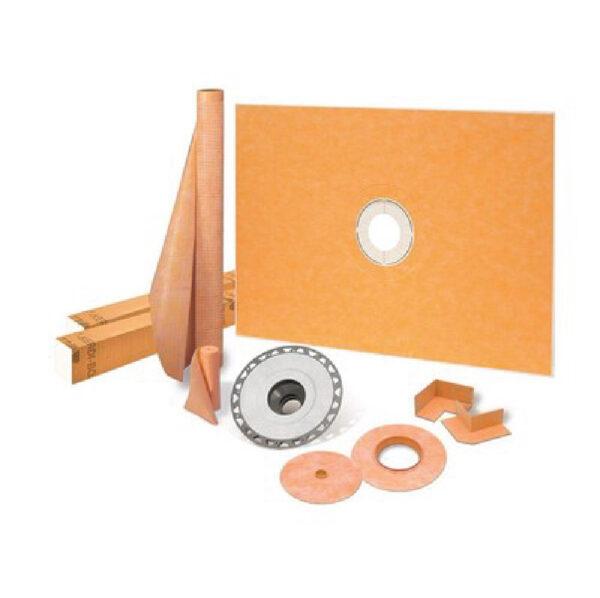 38x60 Center Shower Drain Kit - KSK9651525PVC