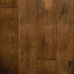 Red Oak Ebony Handscraped Flooring