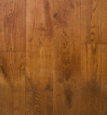 Golden Oak Handscraped Flooring