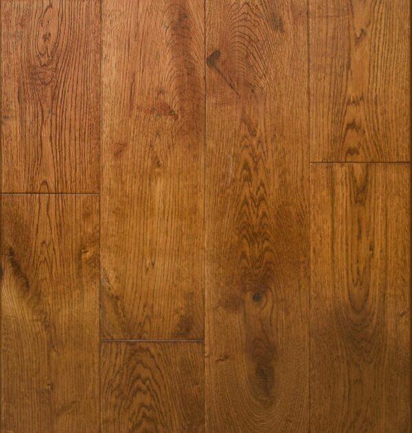 Golden Oak Handscraped Flooring