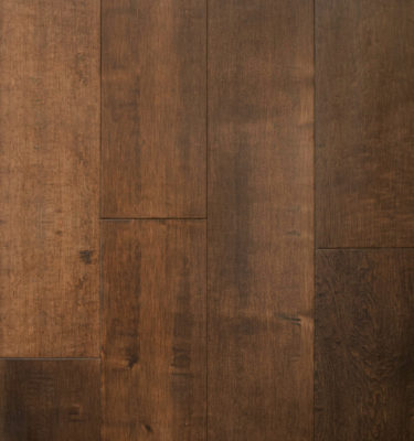 Maple Mahogany Handscraped Flooring