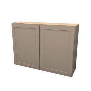 42Wx30H-Butt-Door-Wall-Cabinet-W4230BLFR