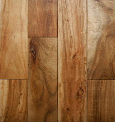 Small Leaf Acacia Handscraped Natural Flooring