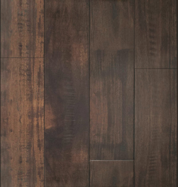 Small Leaf Acacia Walnut Hand Scraped Flooring