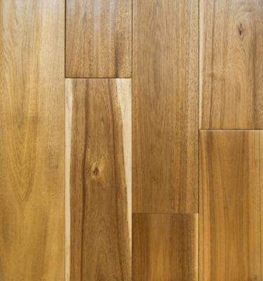 Wide Leaf Acacia Natural Light Hand Scraped Flooring