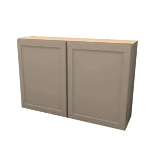 45Wx30H-Butt-Door-Wall-Cabinet-W4530BLFR