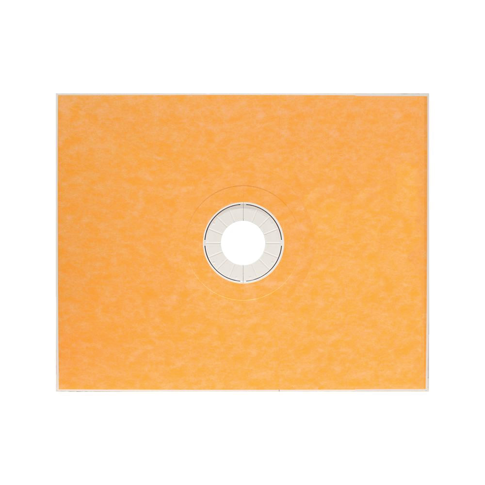 48x60 KERDI Center Drain Shower Tray - KST12201525