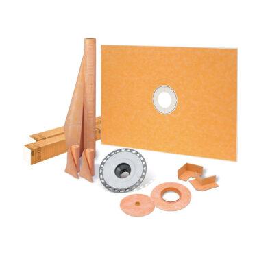 48x72 Center Drain Shower Kit - KSK12201830PVC