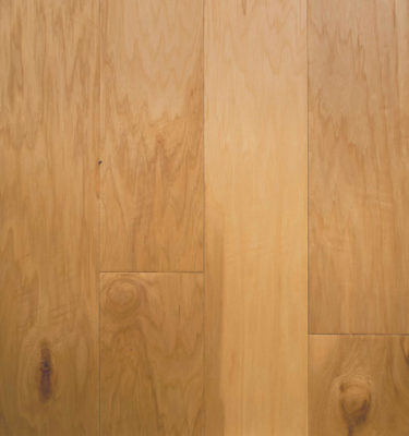 Hickory Natural Engineered Flooring