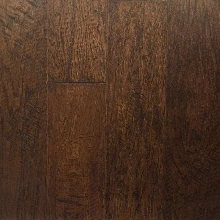 Hickory Warm Earth Engineered Flooring