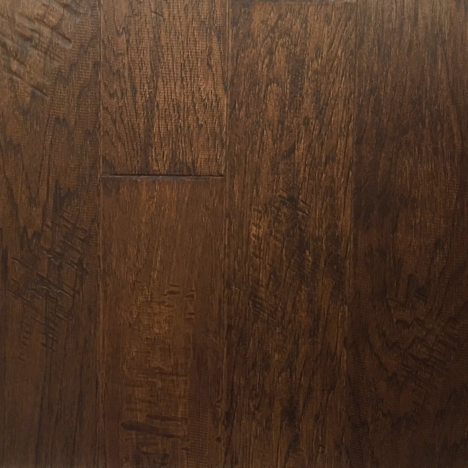 Hickory Warm Earth Engineered Flooring