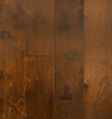 Birch Engineered Antique Brown Handscraped Flooring