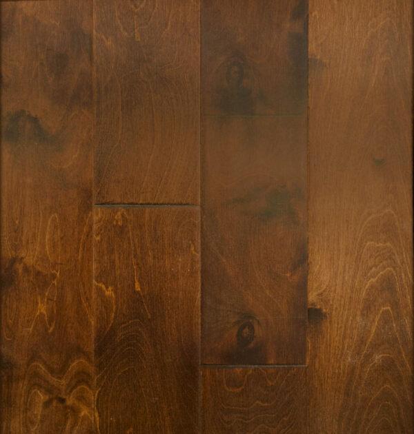 Birch Engineered Antique Brown Handscraped Flooring