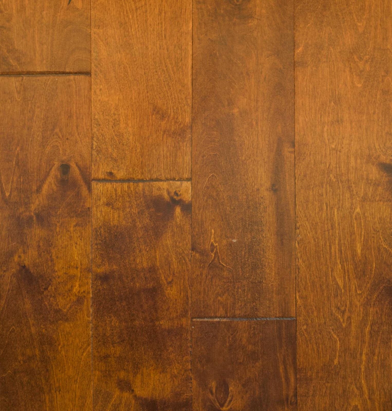 Birch Engineered Autumn Gold Handsed Flooring