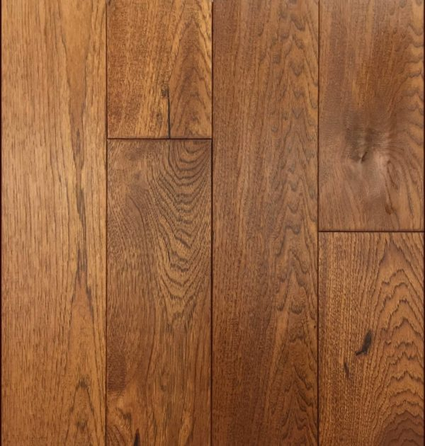 Hickory Saddle Handscraped Flooring