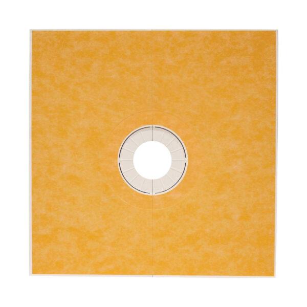 60x60 KERDI Center Drain Shower Tray - KST1525