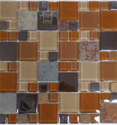 AL1230 GLASS TILE AND STONE