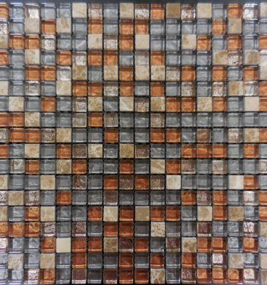 AL650 glass tile and stone mosaic mini brick glass tile