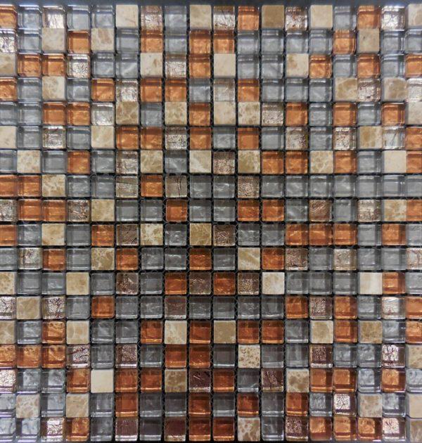 AL650 glass tile and stone mosaic mini brick glass tile