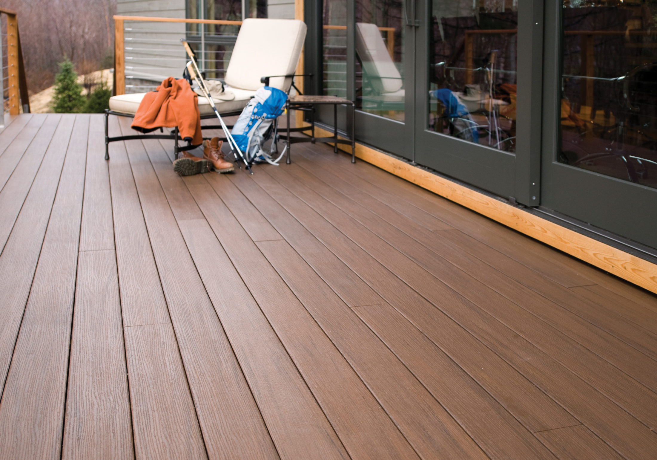 Azek arbor collection acacia solid 20 39 schillings for Balcony decking boards
