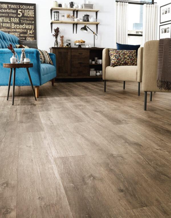 Lodge Vinyl Flooring Room Scene