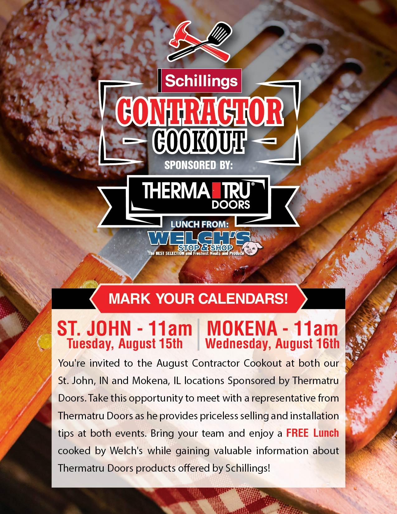 August Contractor Event Invite