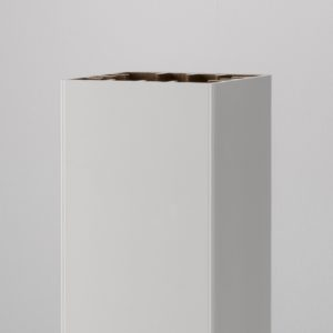 Azek White PVC Post Sleeve