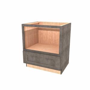 "Jamestown Maple Slate Microwave Base Cabinet - 30"" x 34-1/2"""