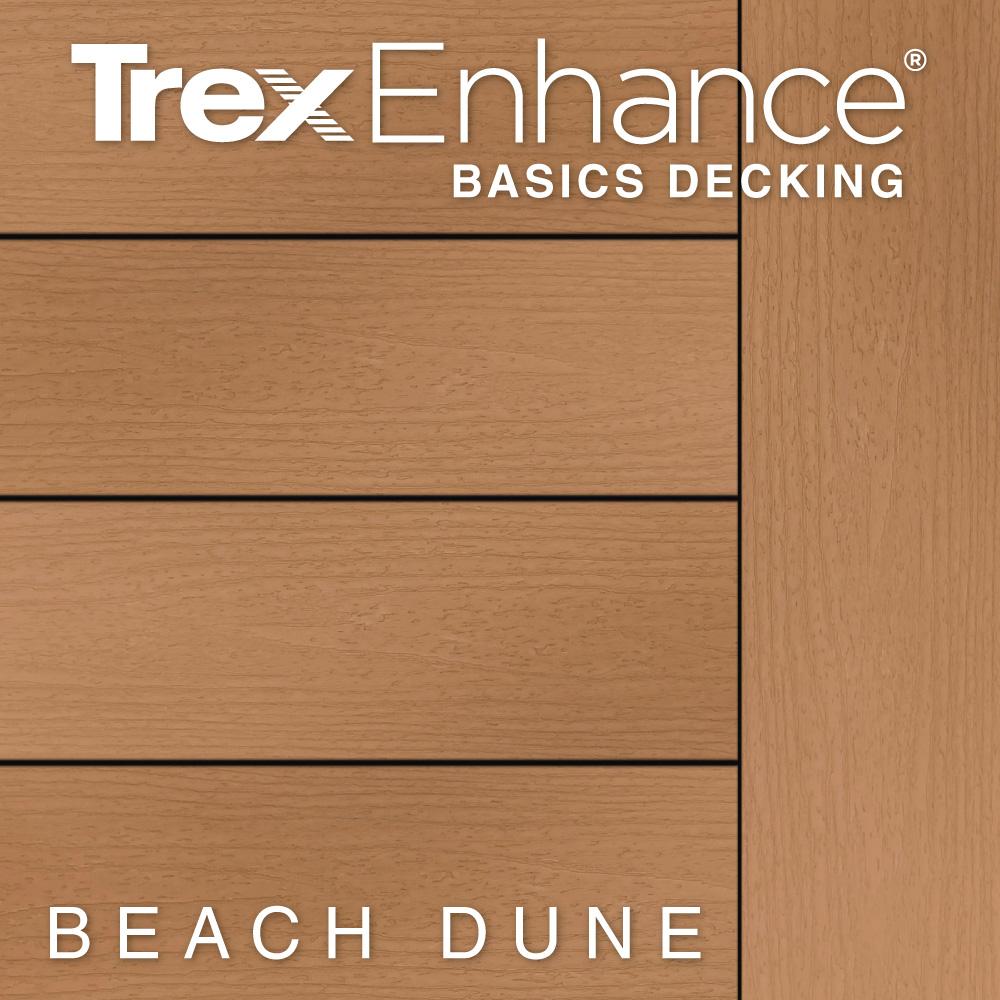 Color Selector Trex Enhance Basics Beach Dune Decking