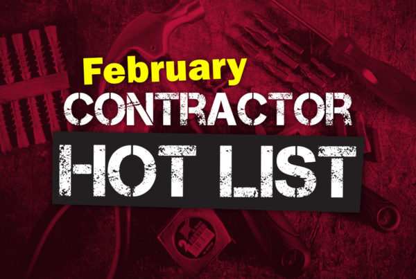 February Contractor Hot List