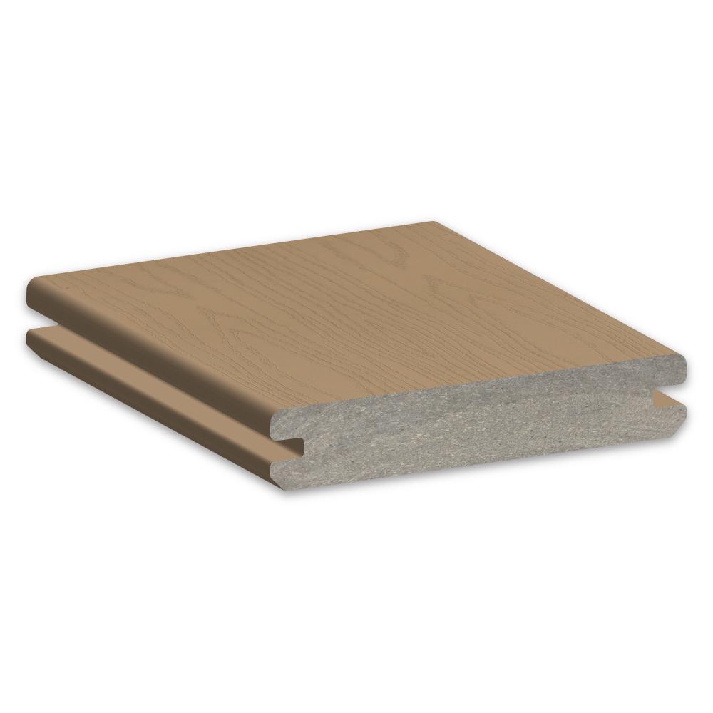 TimberTech Azek Harvest Brownstone Decking Sample