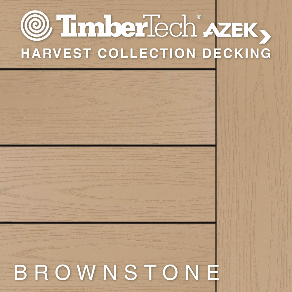 Color Selector TimberTech Harvest Collection Brownstone Decking