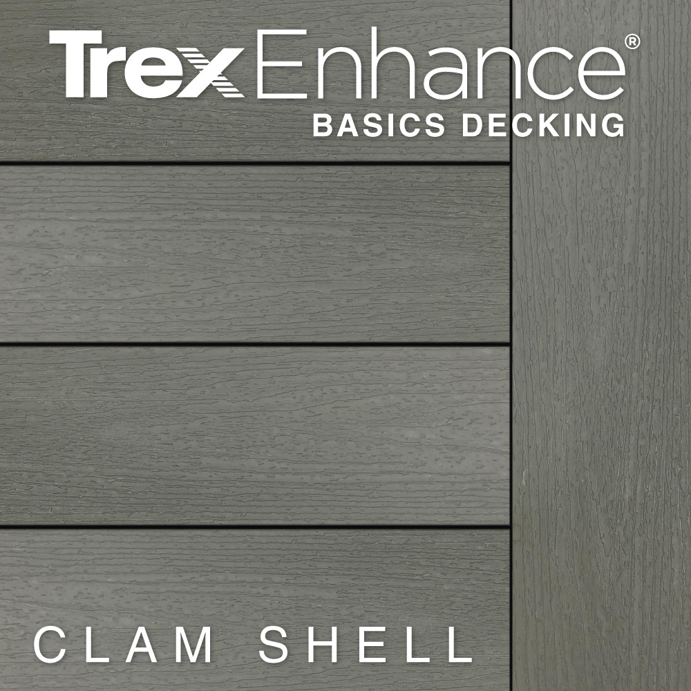 Color Selector Trex Enhance Basics Clam Shell Decking