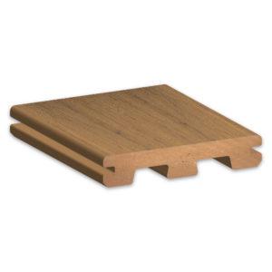 TimberTech Edge Prime+ Coconut Husk Decking Sample