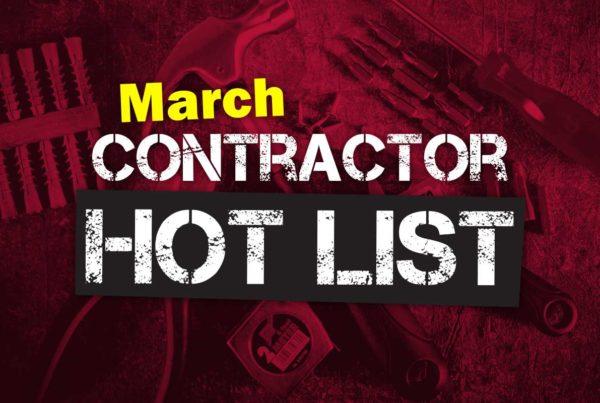 Contractor-hotlist