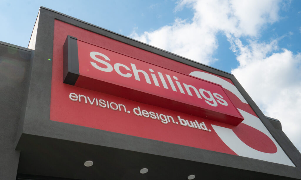 Schillings store front sign