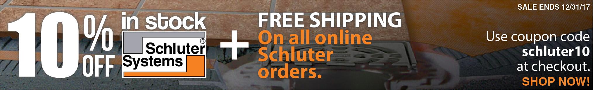 Schluter Sale