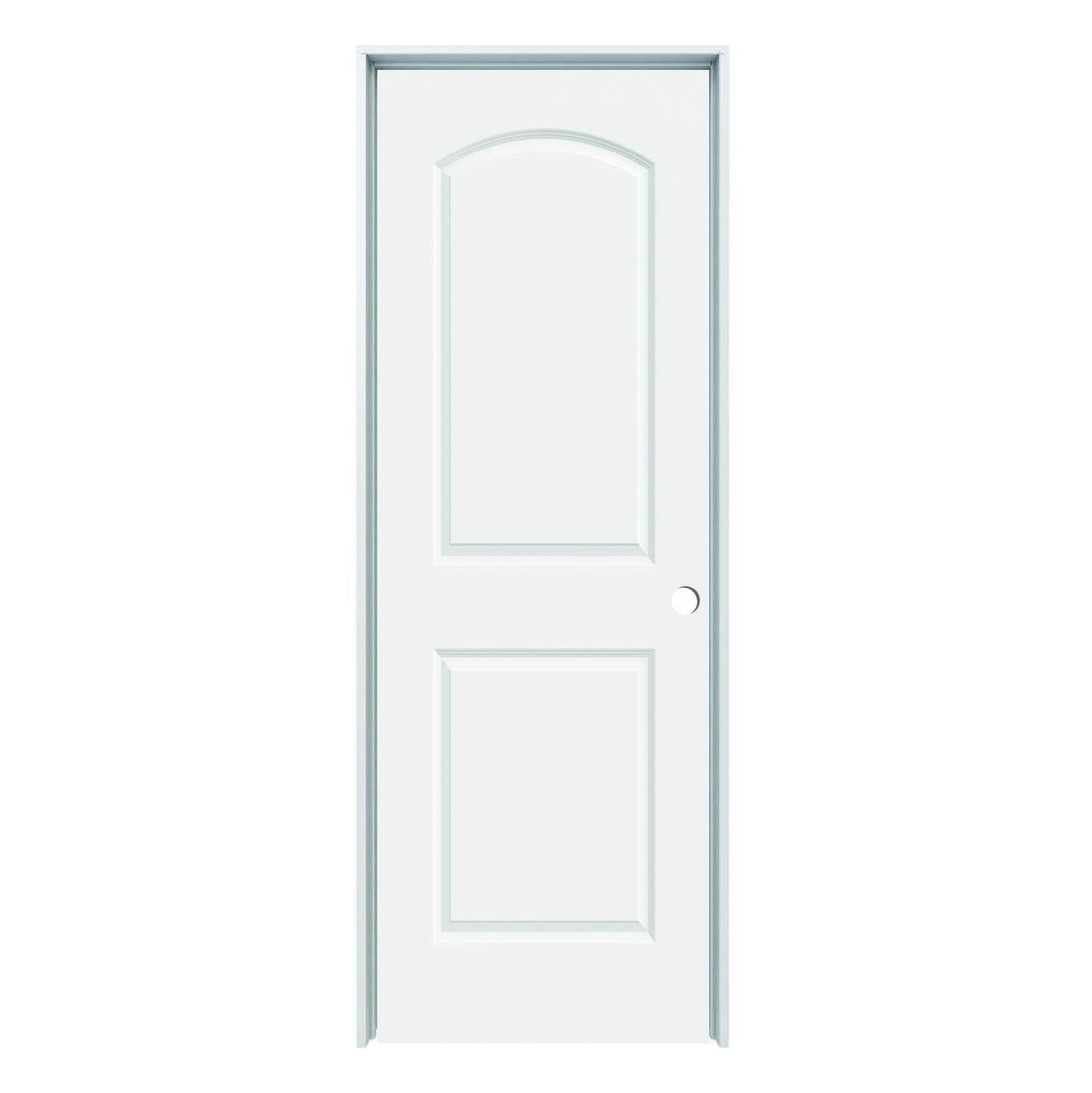 Solid core arch continental 2 panel prehung door rh 28 - Interior prehung solid core doors ...
