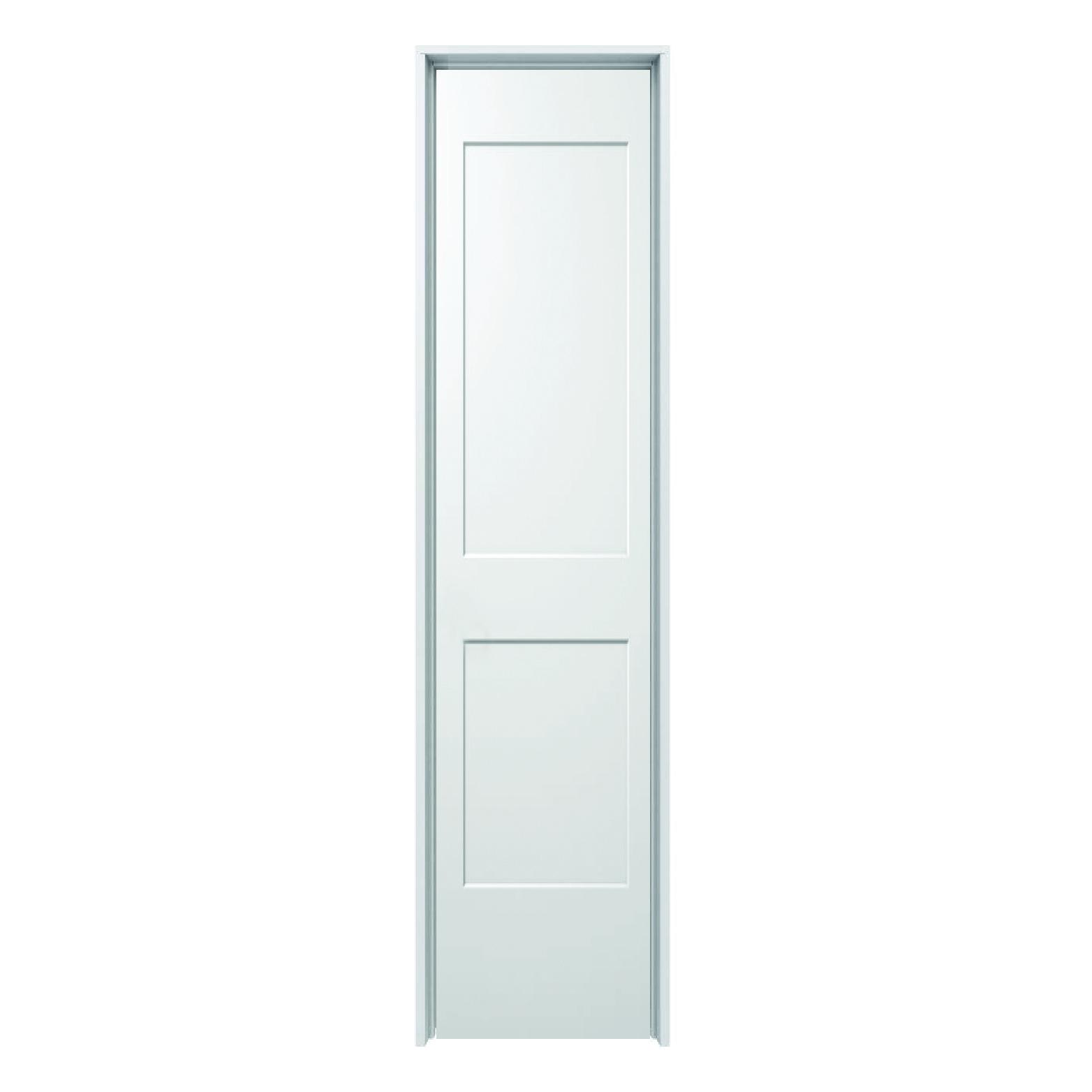 Hollow Core Monroe 2 Panel Prehung Door Rh 18 X 80 Schillings