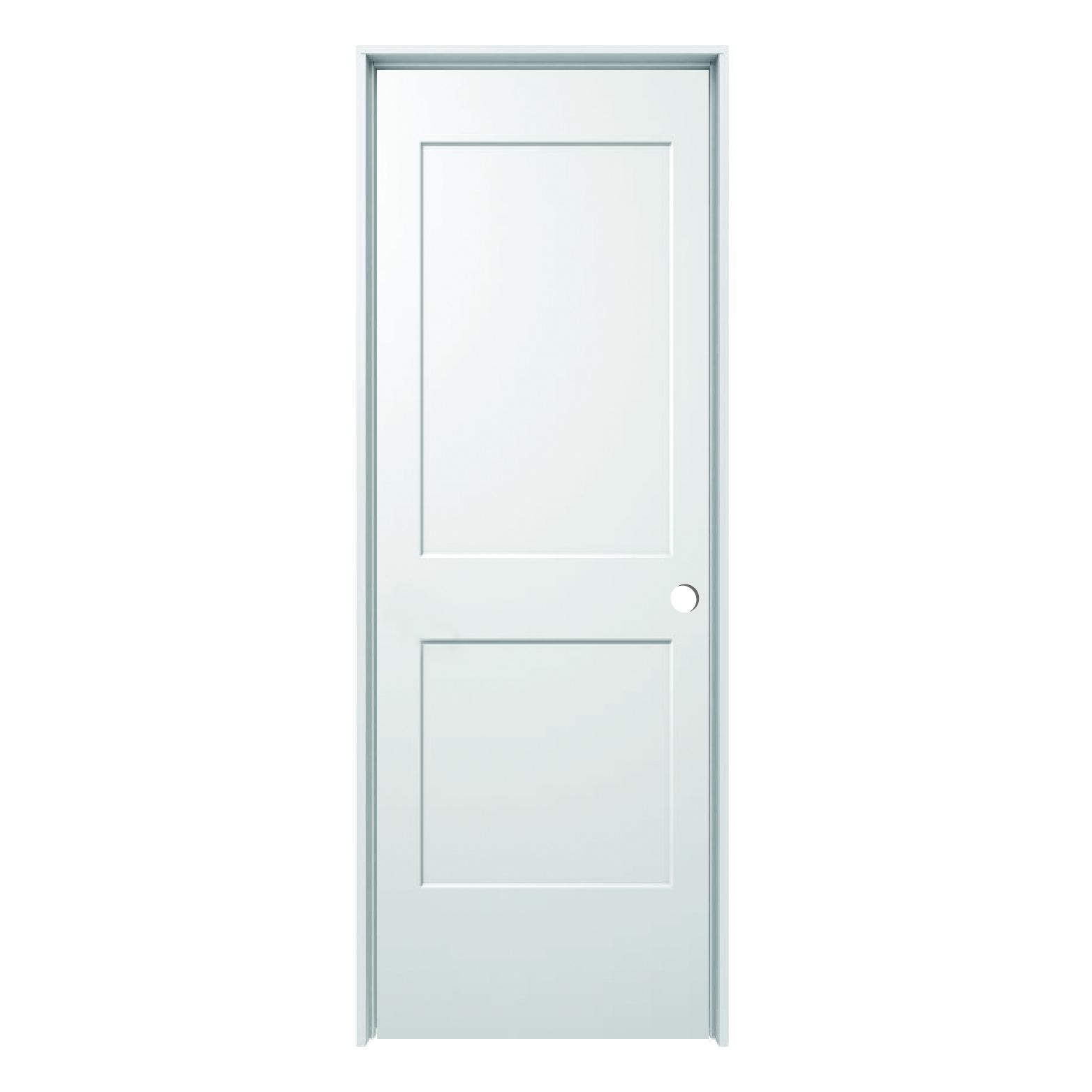 Hollow Core Monroe 2 Panel Prehung Door Rh 28 X 80