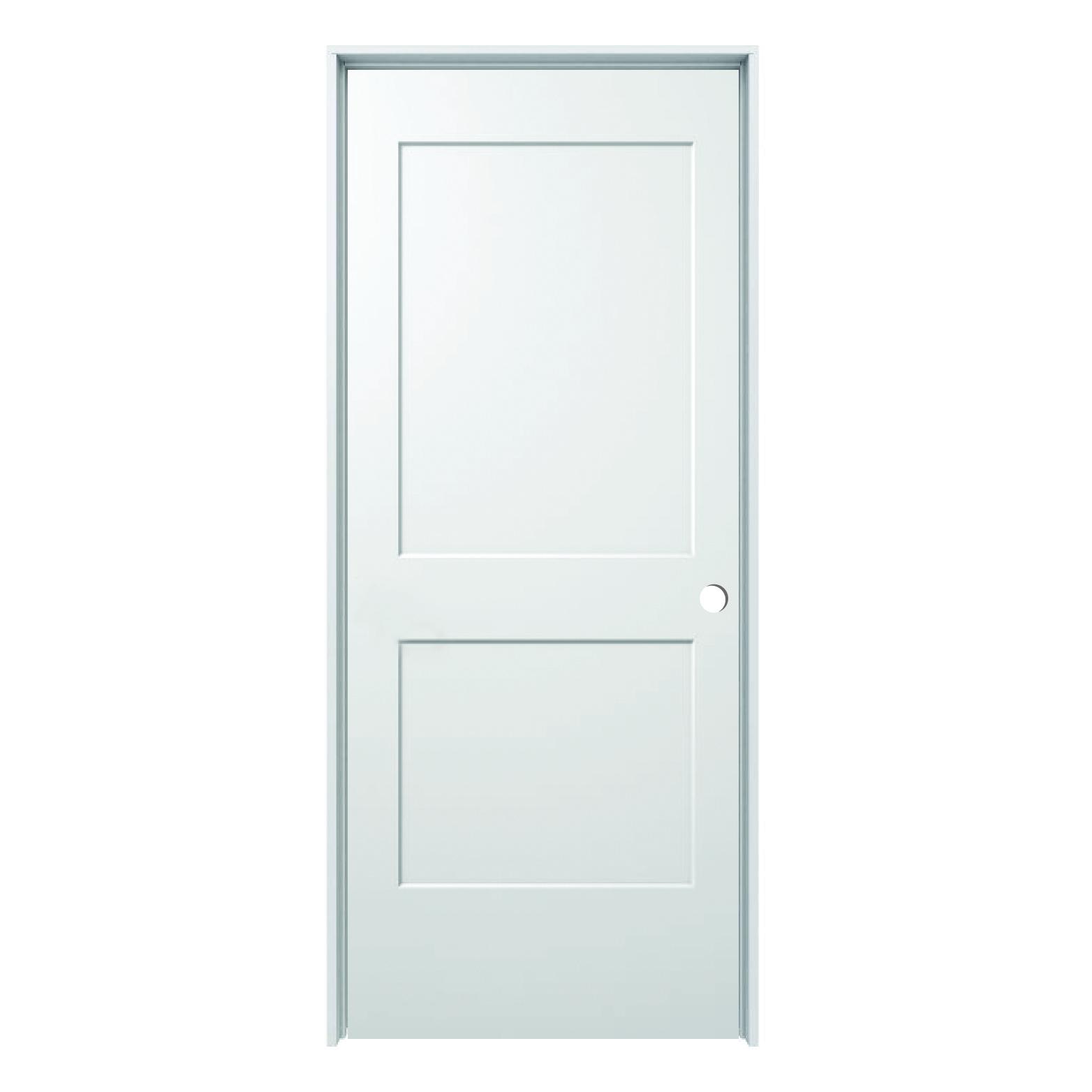 Hollow Core Monroe 2 Panel Prehung Door Rh 32 Quot X 80