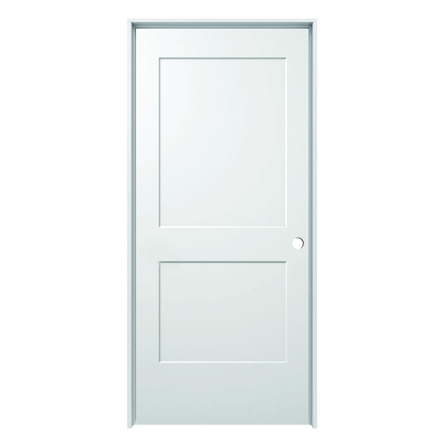 Hollow Core Monroe 2 Panel Prehung Door Rh 36 X 80