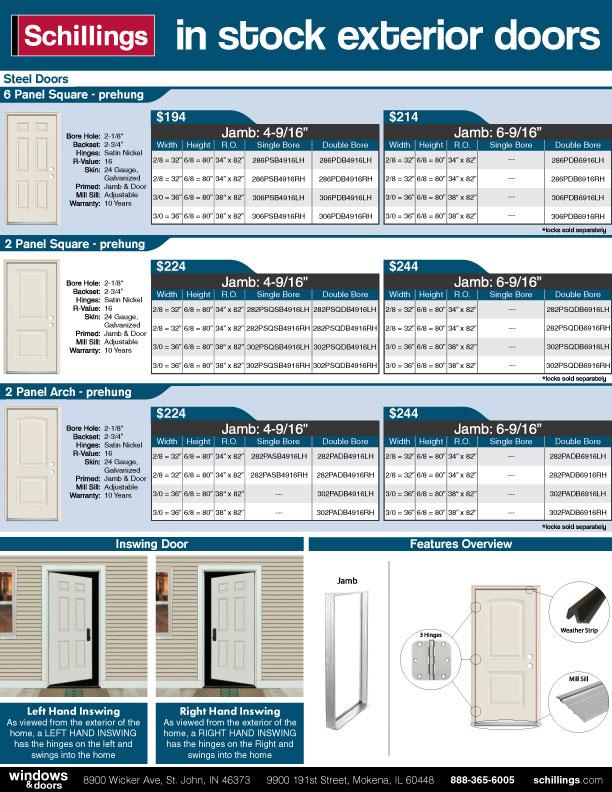 Exterior-Steel-Door-Hot-Sheet