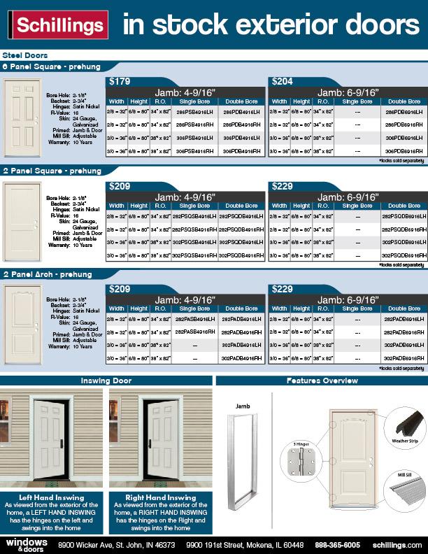 Exterior Steel Door Hot Sheet