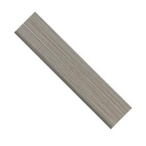 fabrique gris linen bullnose 3 x 12