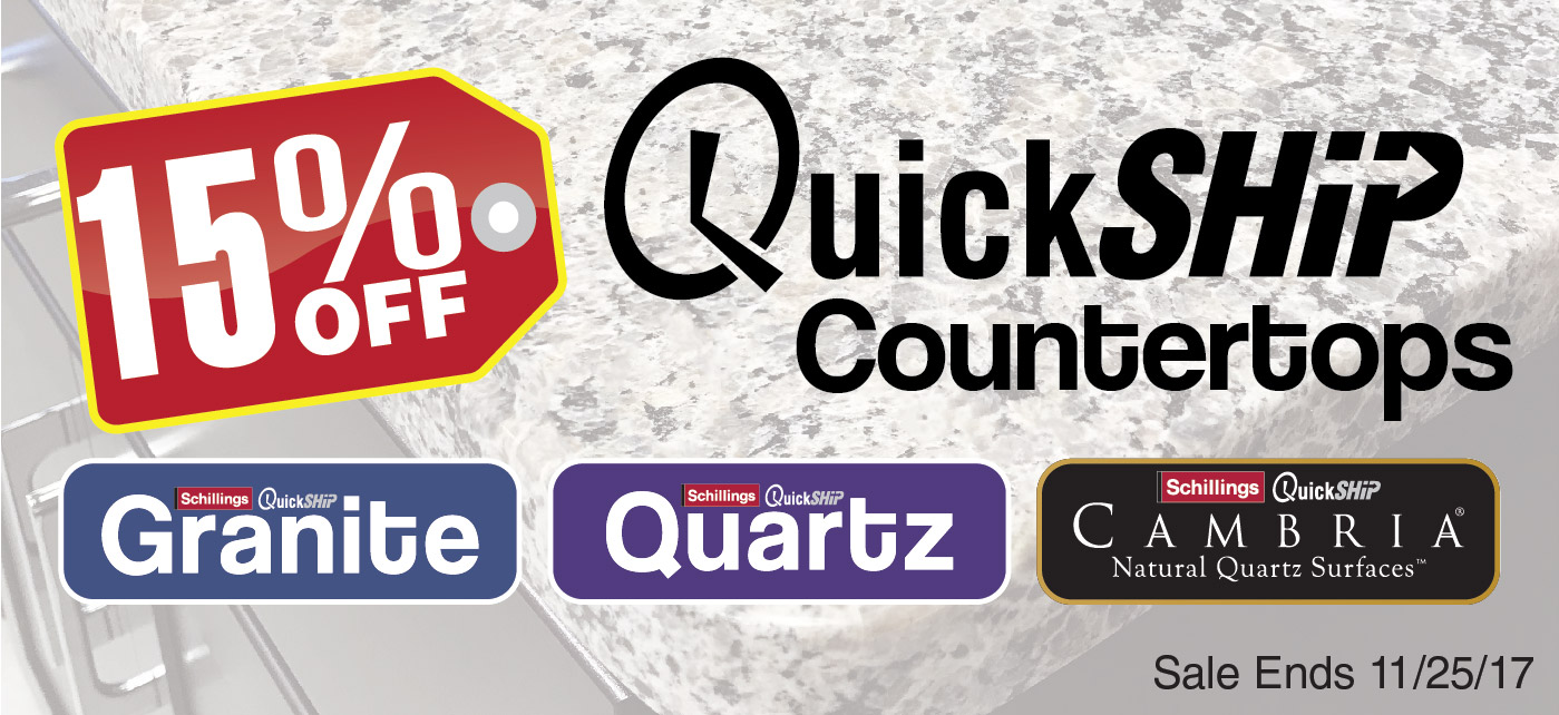 quickship counters